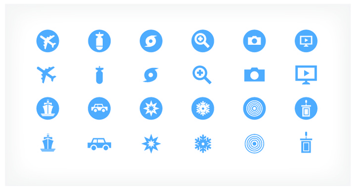 USA Today Visual Language Icons